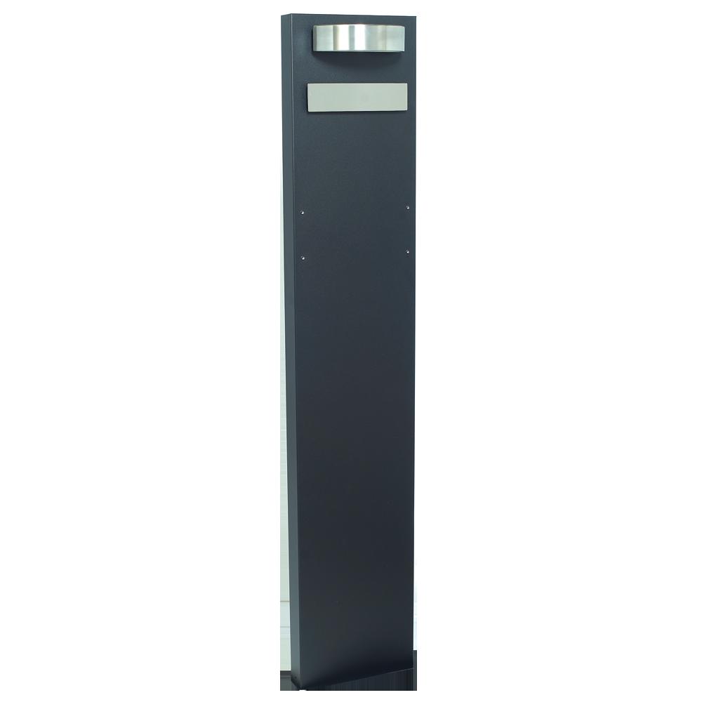 MEFA Stander 63 RAL 9005 & Rustfrit stål