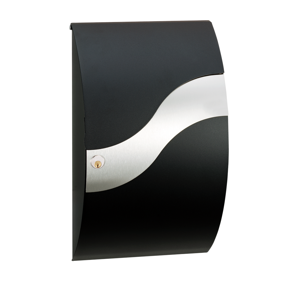 MEFA Wave 630 RAL 9005 og rustfri bølge